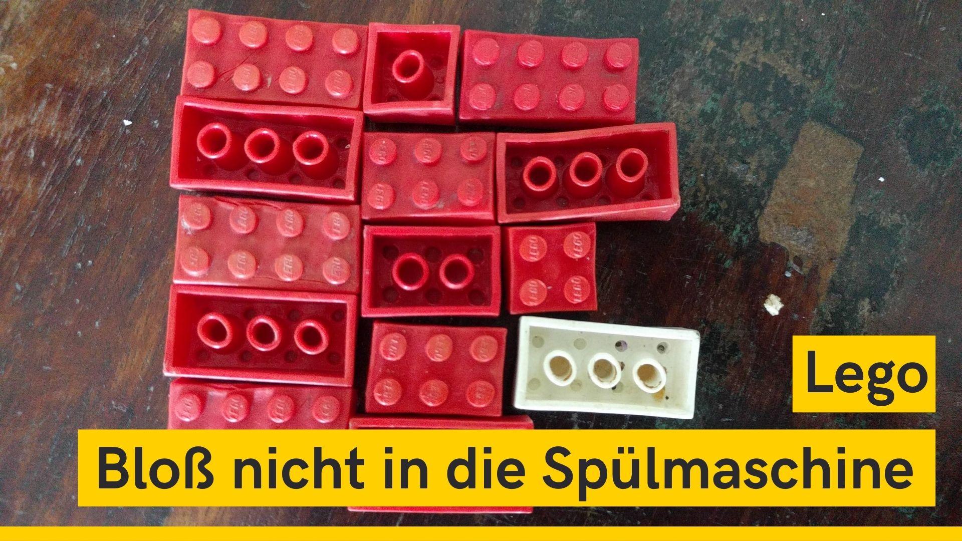 Lego waschen